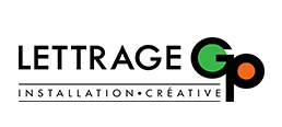 Lettrage GP logo web