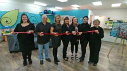 L'équipe et le conseil d'administration inaugure les nouvelles installations du Centre Pie de Drummondville