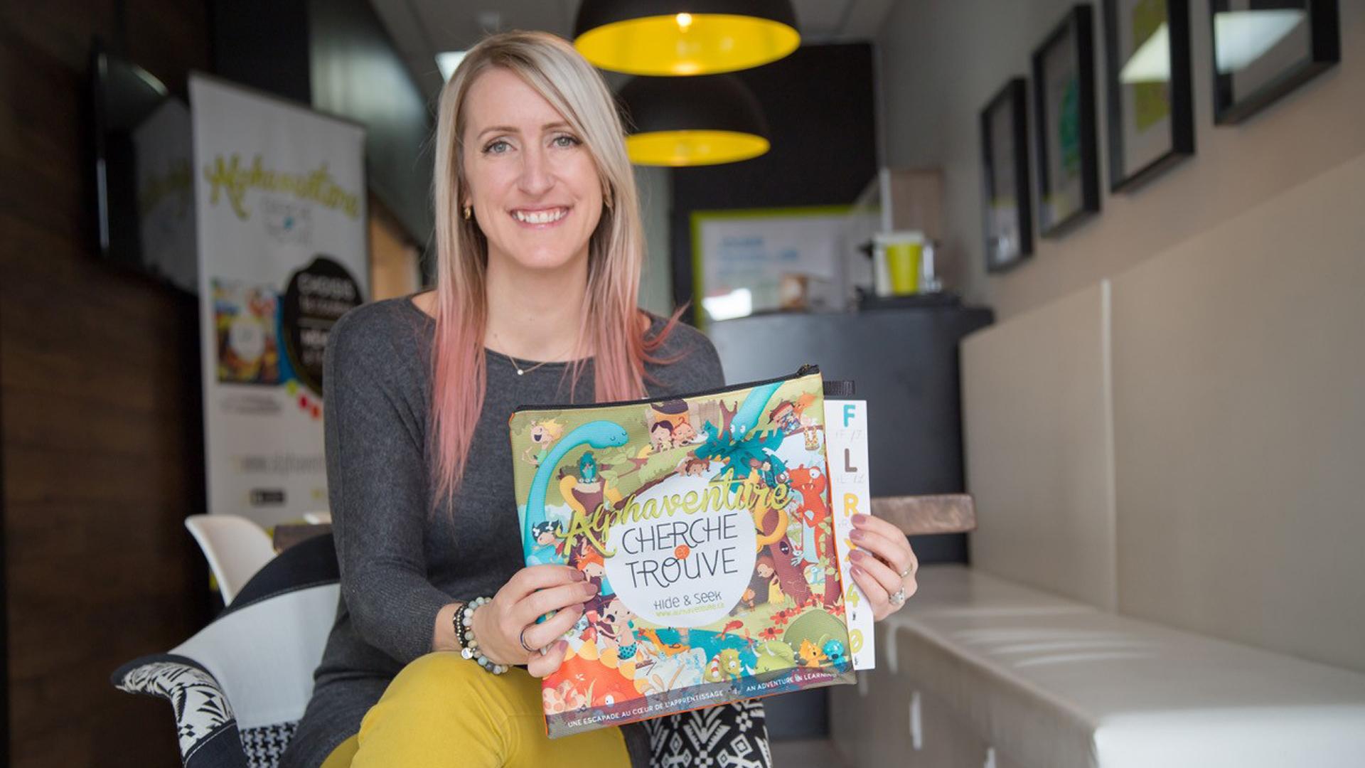 Marie-Michèle Bouchard-Roussin fondatrice d'Alphaventure cherche et trouve - Relations de presse Fagnan relations publiques Drummondville