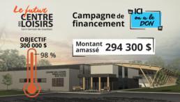 Campagne de financement du Centre des loisirs Emballages Box Pack de Saint-Germain