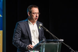 Alain Desruisseaux, président de la Table régionale de l'éducation Centre-du-Québec