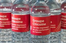 Bouteilles d'eau annonce Imprimerie FL Web devient l'un des imprimeurs les plus importants