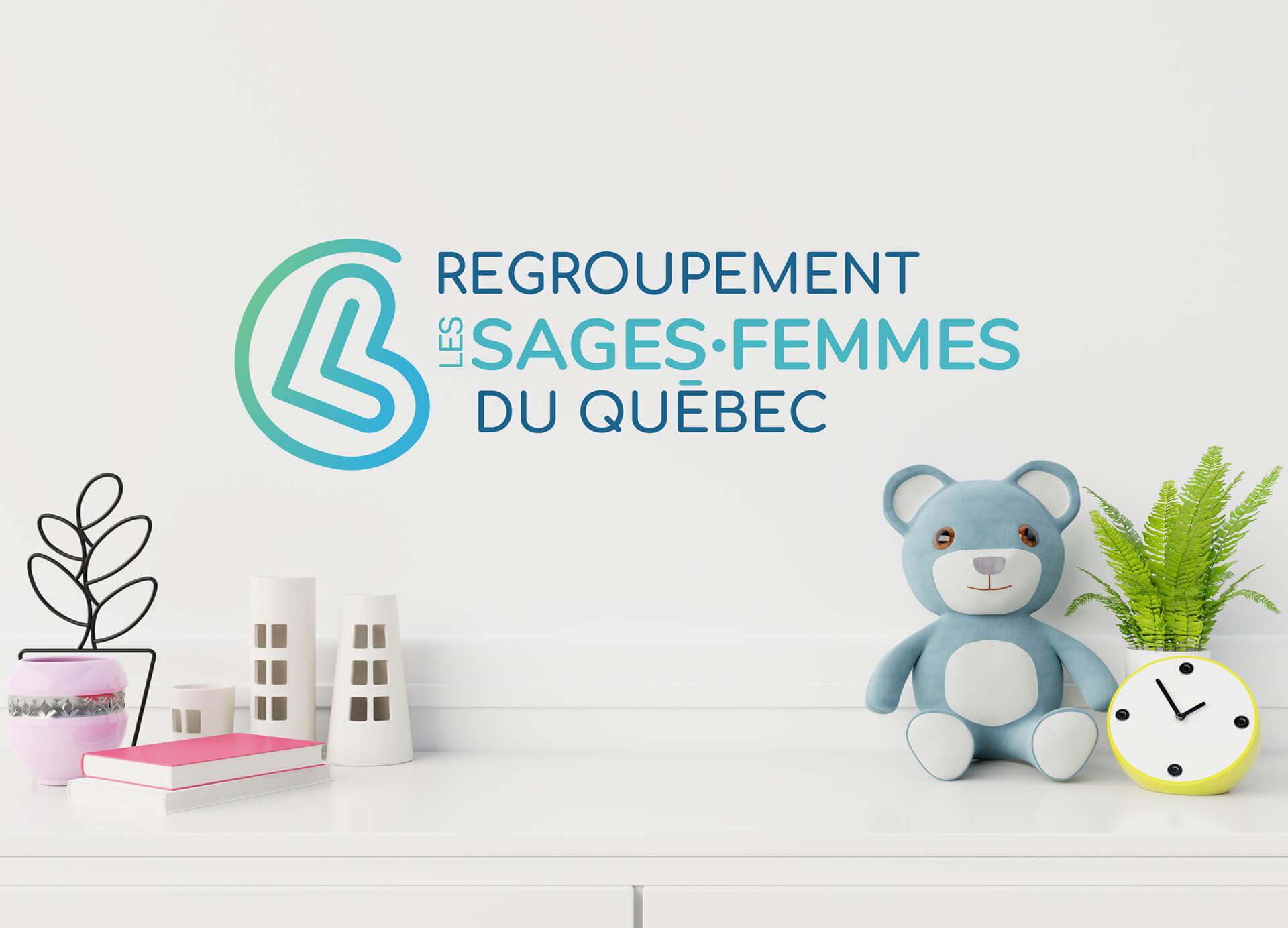 Nouveau logo du RSFQ développé par Fagnan relations publiques