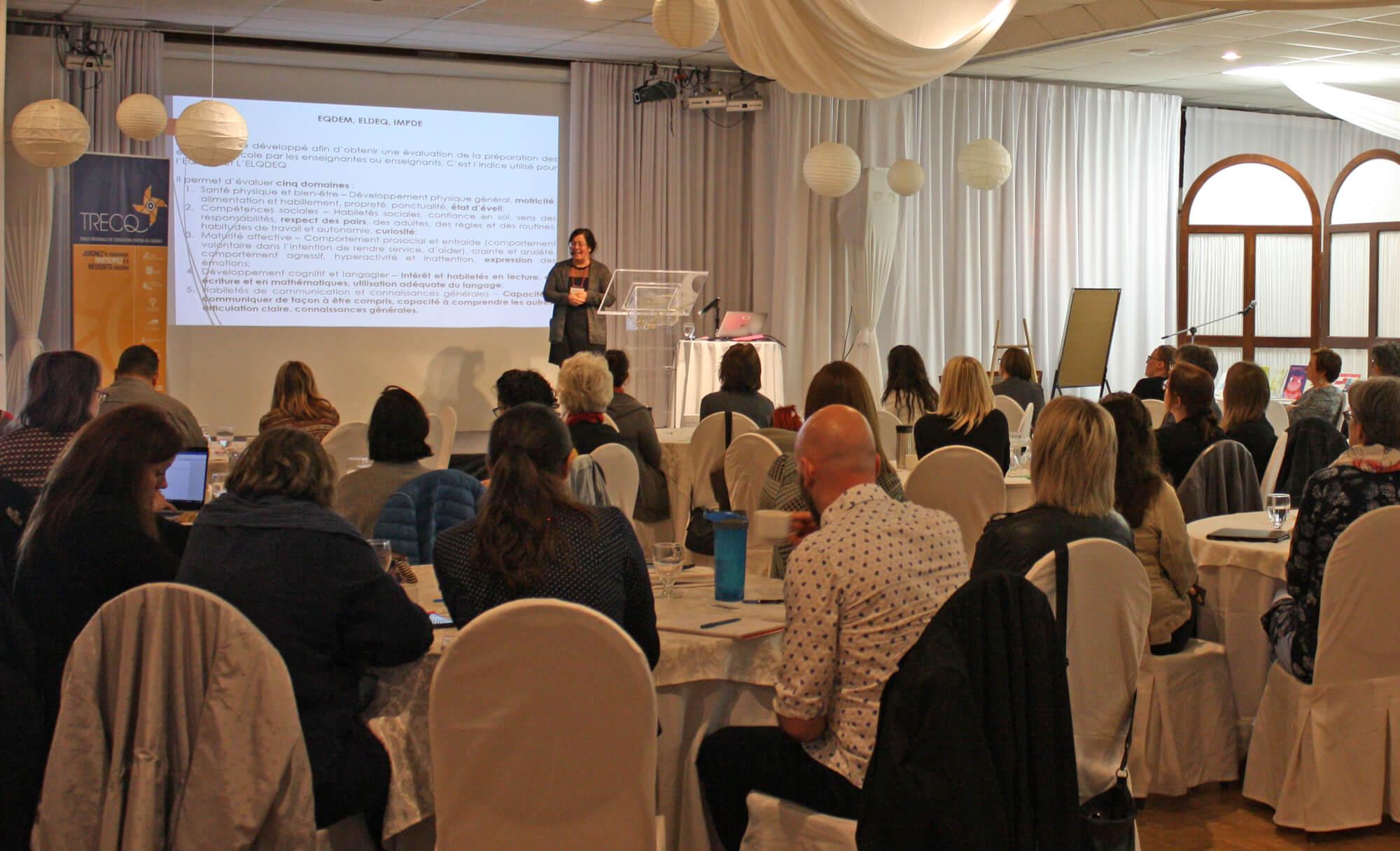 Premier rendez-vous en littératie au Centre-du-Québec organisé par la TRECQ