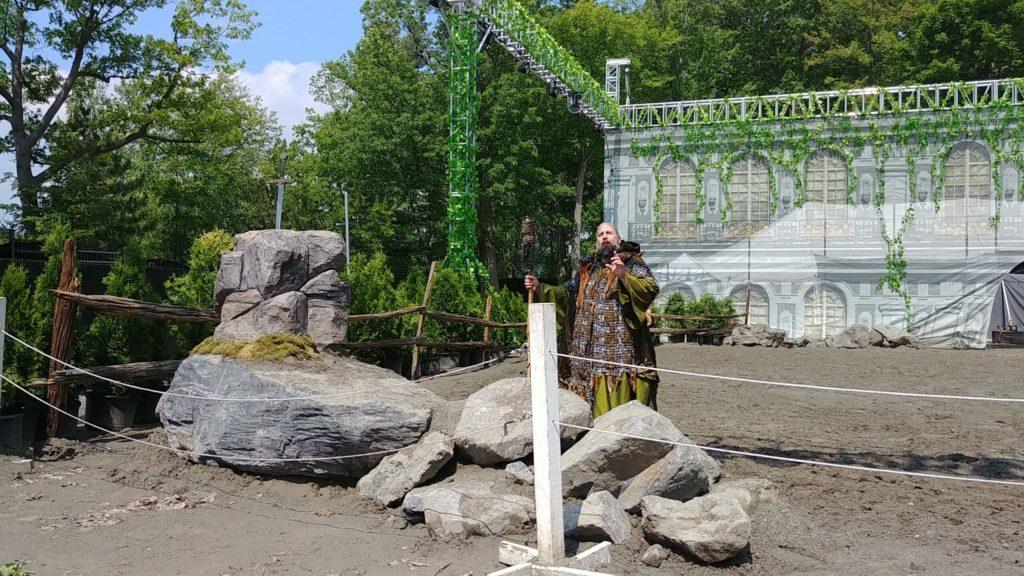 Merlin, la légende du Roi Arthur des productions Apzara - Fagnan relations publiques Drummondville