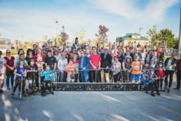 Inauguration Parc Gérard-Perron Drummondville Fagnan Relations publiques
