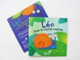Couverture du livre Leo joue à cache-cache - TRECQ