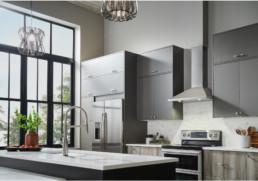 Collection Designer de hottes de cuisinière cheminée de Broan / Venmar Ventilation
