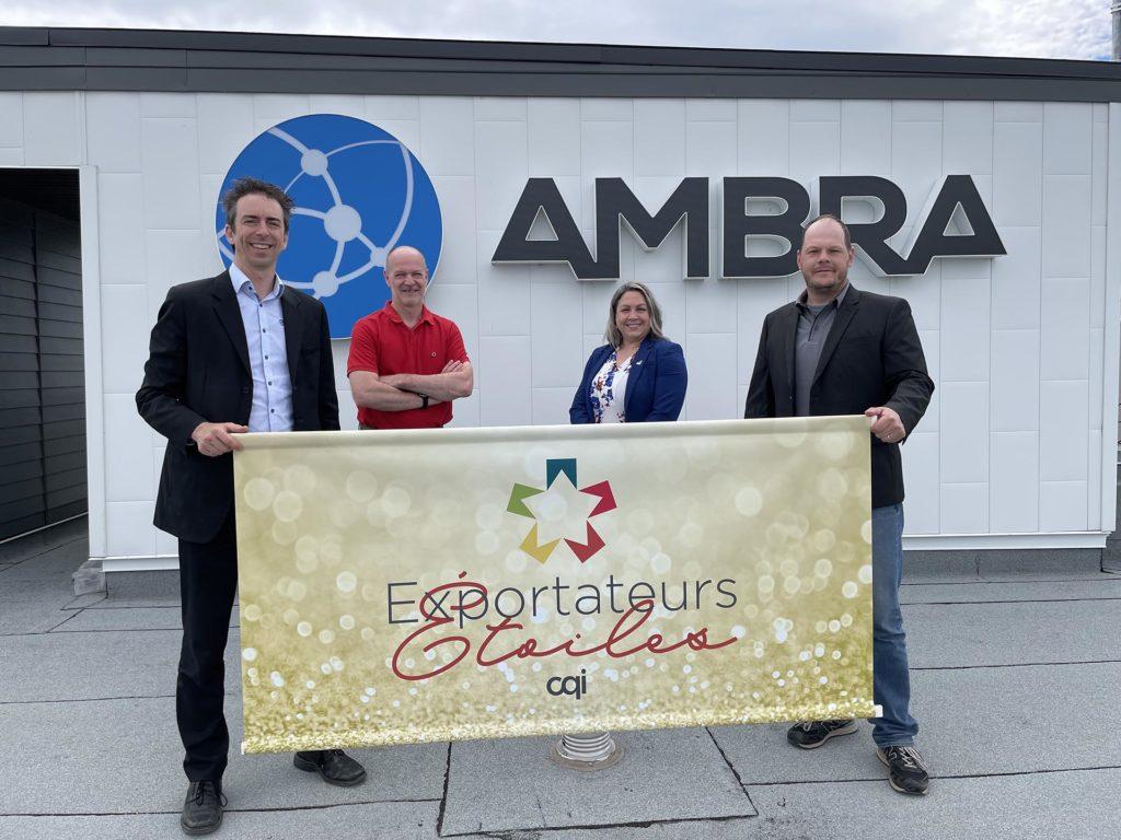 Solutions Ambra exportateurs étoiles de CQI