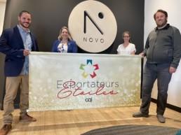 Novo électronique -exportateurs étoiles de CQI