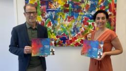Yves Boisjoli Humanware et Catherine Gervais de CQI